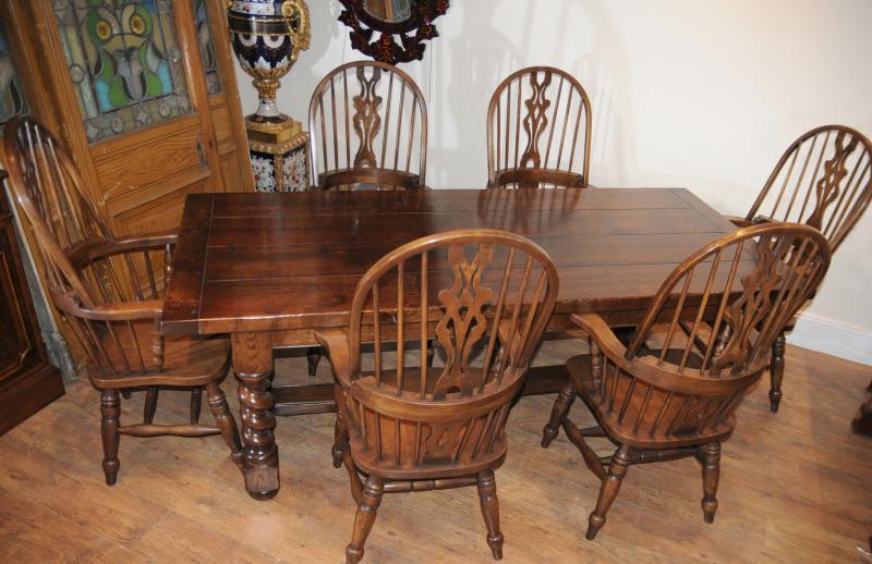 Table de réfectoire Windsor Chaise de cuisine