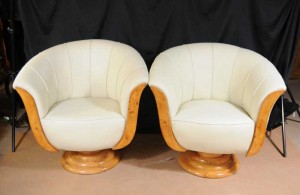 Art Deco Sofa Arm Chairs Club Seats Armchairs Shell