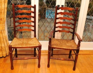 Oak Ladder Back Chairs Ladderback