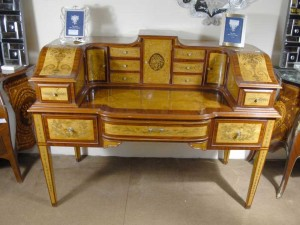 Regency English Carlton House Desk Writing Table Desks