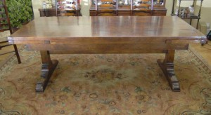 10 ft English Oak Farmhouse Table Farmhouse Extender