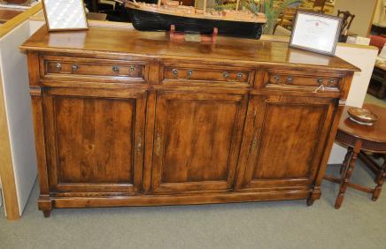 Oak French Louis Philippe Sideboard Dresser Farmhouse Buffet