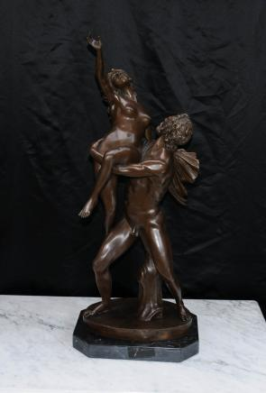 Italiana Sabine romano Mito Femminile Figurine Bronze Statue