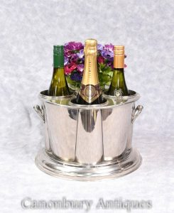 Sheffield Silver Plate Wine Champagne Cooler