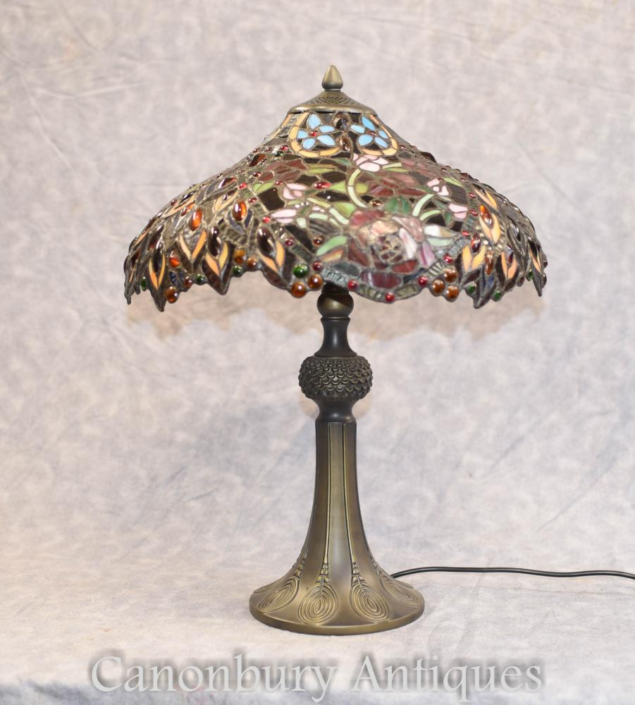 Tiffany Table - Art Nouveau Table Light Shade