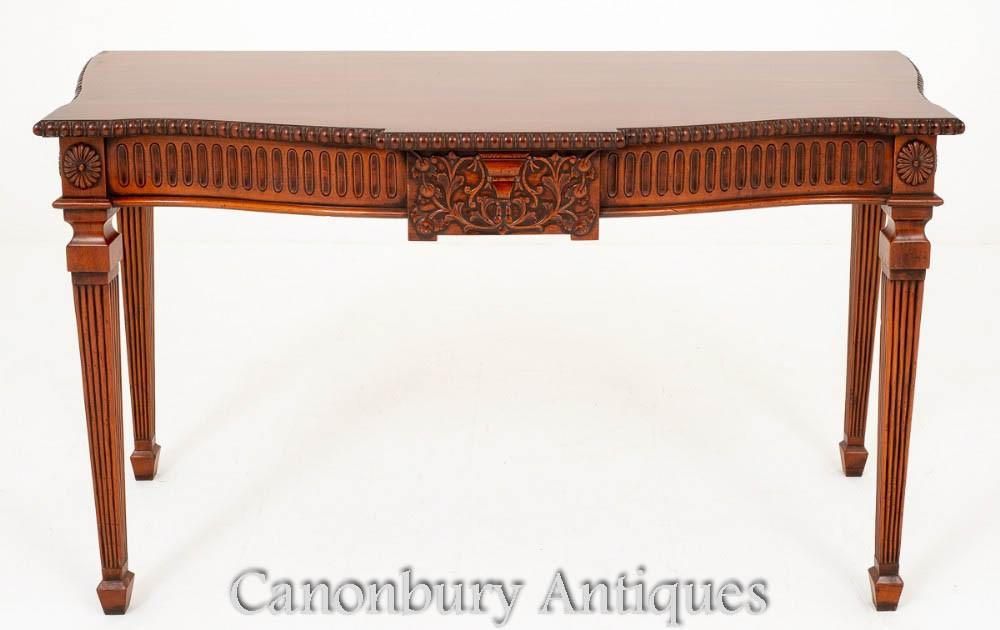 Adams Console Table in Mahogany
