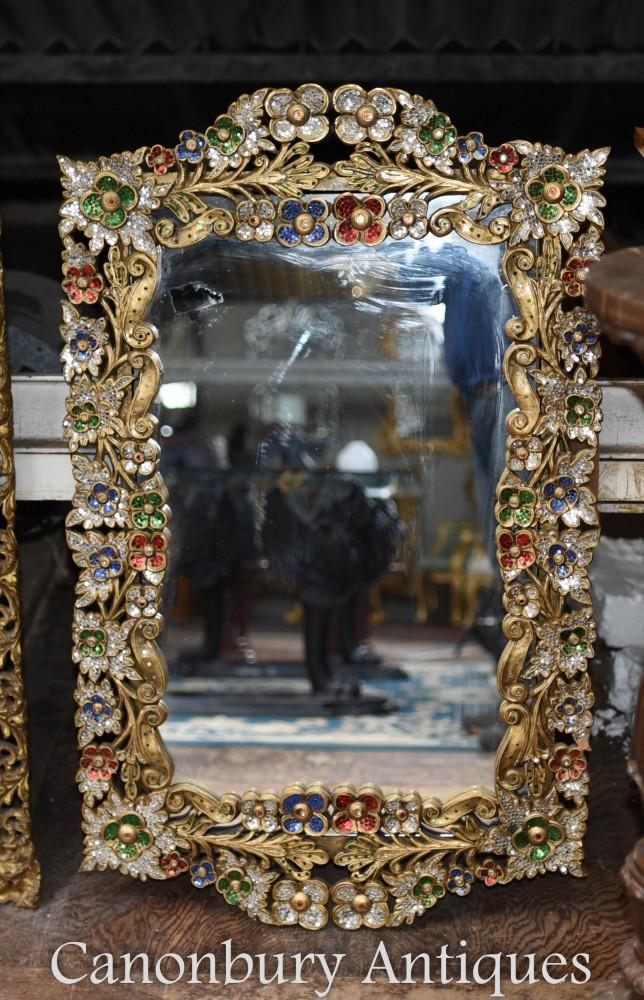 Art Nouveau Pier Mirror Glass