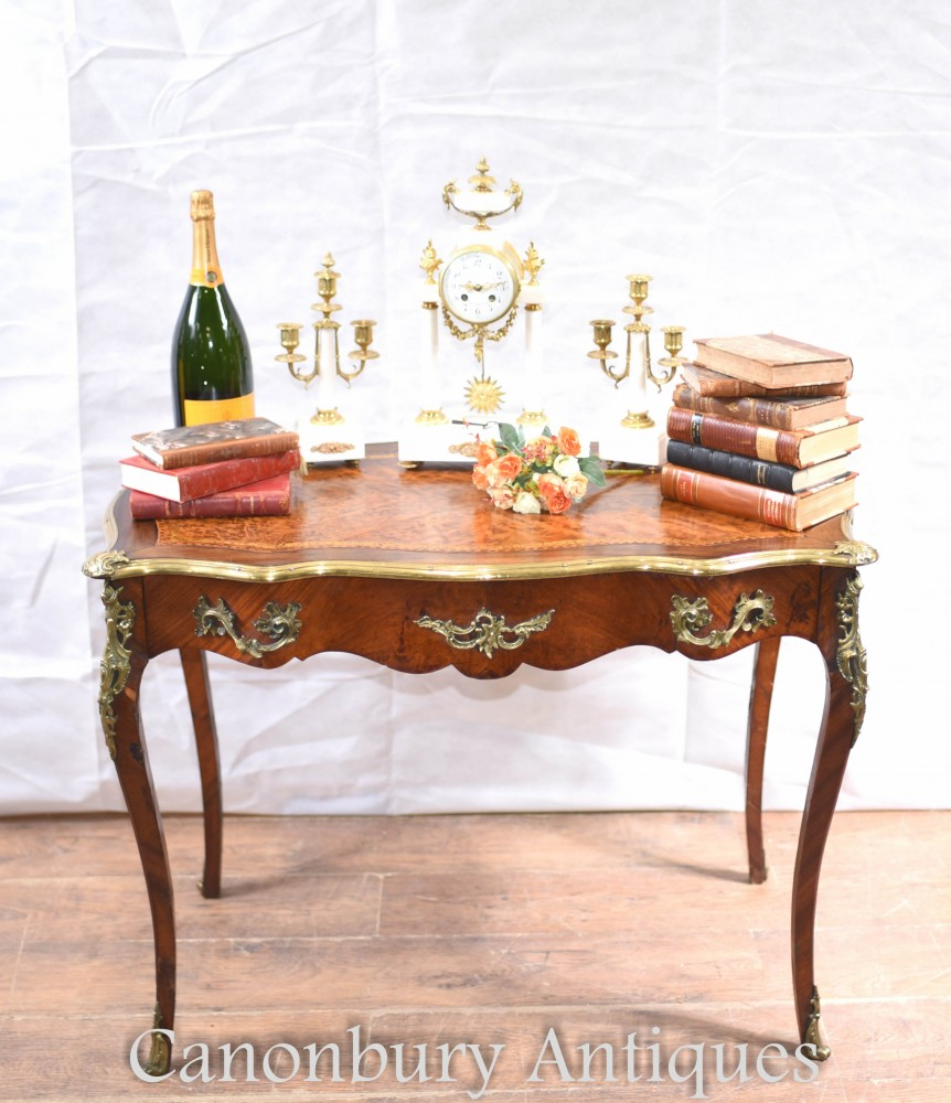 French Antique Desk - Empire Writing Table Circa 1890