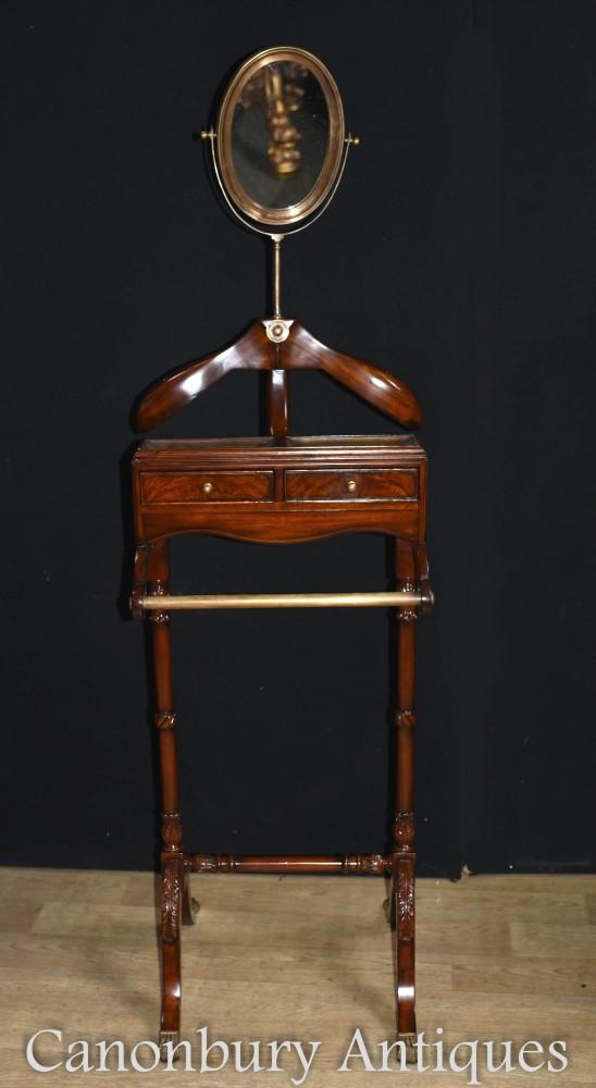 Victorian Valet Butlers Stand - Trouser Shirt Dresser
